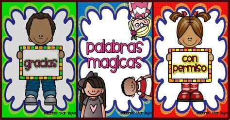 imagenes palabras magicas palabras m 225 gicas tarjetas imprimibles imagenes educativas