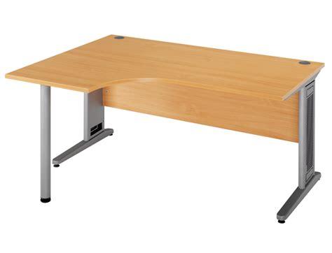 largo 1600 lh ergo desk beech alpha office supplies