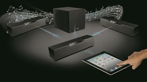 creative unveils wireless speaker system macworld