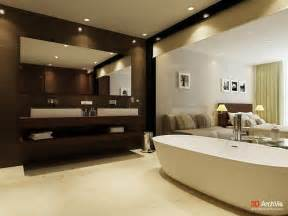 Brown And White Bathroom Ideas ensuite bathrooms are also seeing more open designs with huge viewing