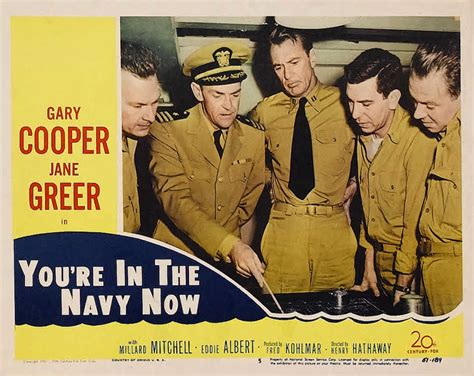 you re the now you re in the navy now 1951