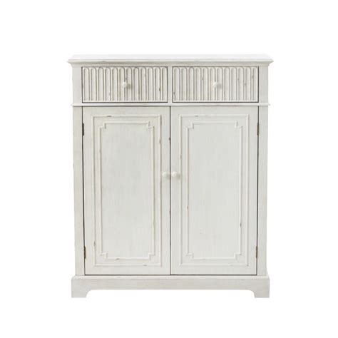 home decorators collection manor 50 in h distressed white