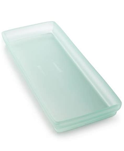 Sea Glass Bathroom Accessories Closeout Martha Stewart Collection Sea Glass Tray Created For Macy S Bathroom