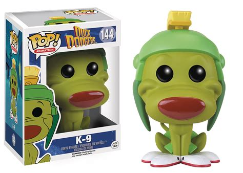 Funko Pop Animation Duck Dodgers Marvin The Martian 143 Vinyl Figure space cadet brian carnell