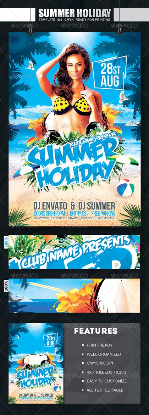 buy flyer templates summer flyer print template psd buy and