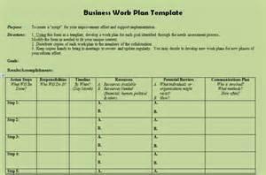 business plan xls template description of business plan template project