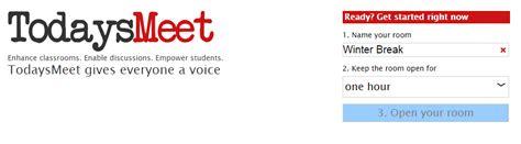 todaysmeet join room september 2014 integration innovation