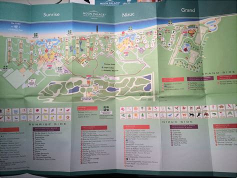 palace resort cancun map moon palace golf and spa resort cancun mexico is