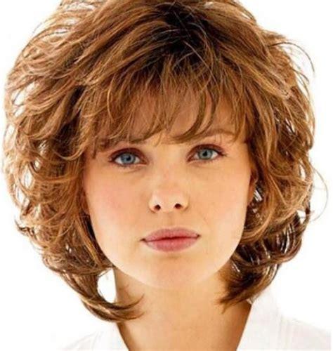 shaggy hair styles with bangs with medium hair over 40 20 curly shag haircuts for short medium long curls