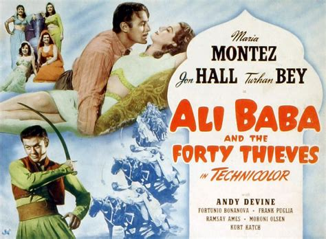 alibaba film ali baba and the forty thieves 1944