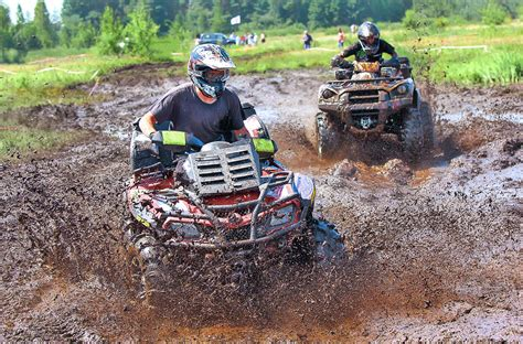 mudding four wheelers posts