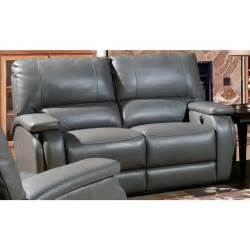 house grisham top grain leather power recliner