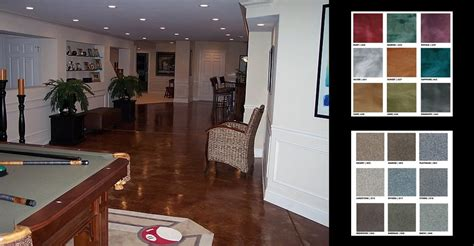 basement floor treatments basement flooring why concrete is a basement floor option the concrete network