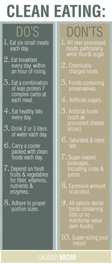 Tips Being Thinner Healthier And Fit by Clean Tips Health Beneficial