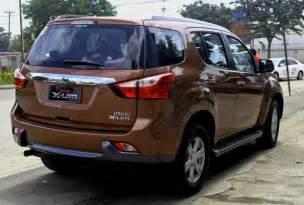 Mu X Isuzu Philippines 2017 Isuzu Mu X Review Price Car Reviews And Price 2017 2018