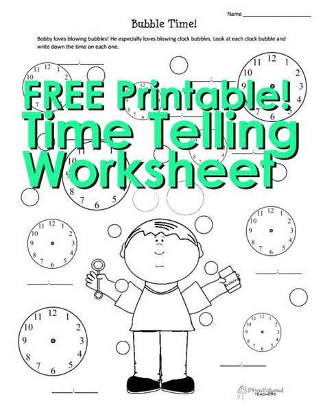 telling time worksheets blank squarehead teachers