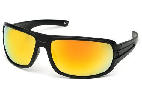 striyker premium eyewear matte black gold tactic
