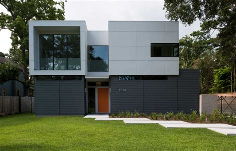 modern home design houston new uber modern home in garden oaks has family friendly