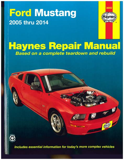 service manual owners manual 1996 ford mustang service ford mustang 2005 2014 haynes automotive repair manual