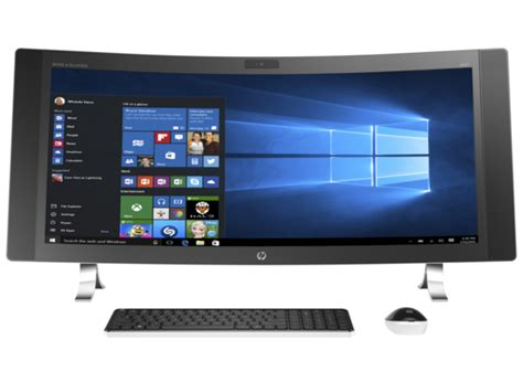 all in one computer desk hp envy curved all in one desktop 34 a010 hp 174 official
