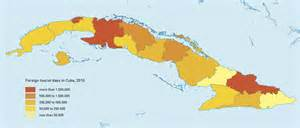 map of united states and cuba as cuba and the united states reengage the presence of