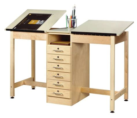 Drafting Table With Storage Furniture Gt Office Furniture Gt Table Gt Station Drawing Table