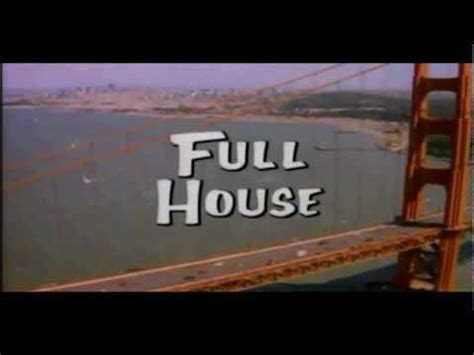 house intro music full house theme song youtube