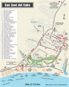 San Jose Del Cabo Map by San Jos 233 Del Cabo Street Map Los Cabos Baja Mexico