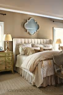 cing valencia interior master reveal with king size bed upholstered headboard