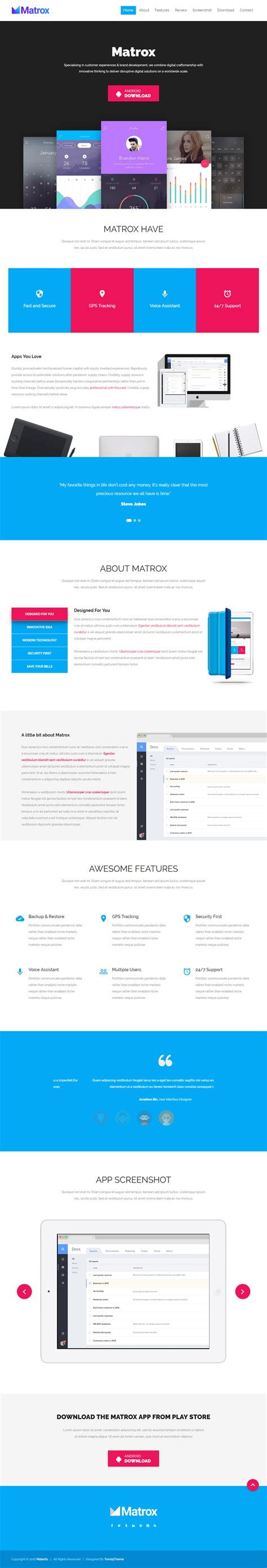 30 best html5 landing page templates 2017 responsive miracle