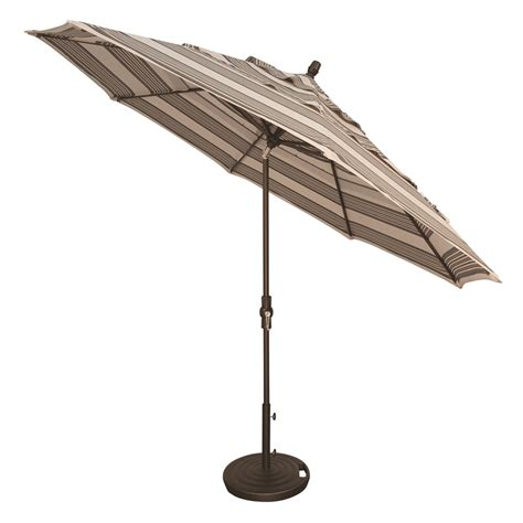 Treasure Garden Patio Umbrellas Treasure Garden Aluminum 11 Auto Tilt Market Umbrella
