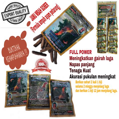 jamu mbah gober doping herbal 100 poultryshop 12