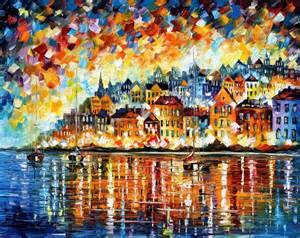 leonid afremov oil painter make something mondays