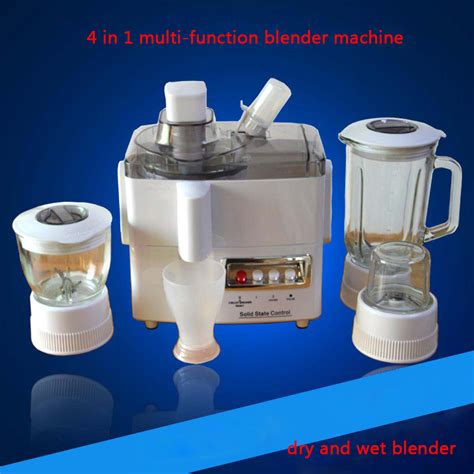 Juicer 4 In 1 electric household fruit juicer machine 4 in 1 multi