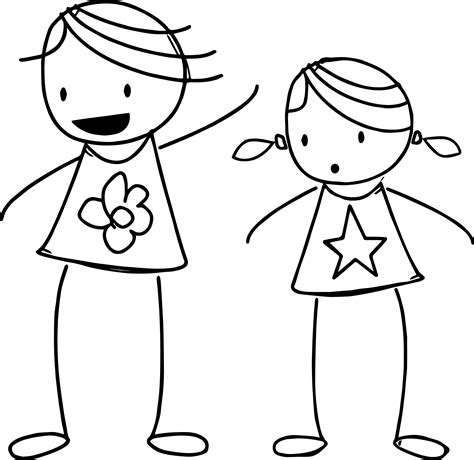 basic coloring pages basic stick princess coloring page wecoloringpage