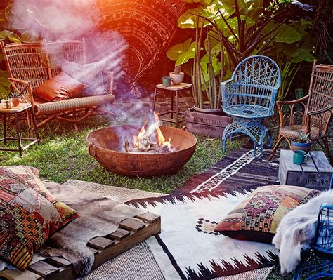 how to create a bohemian atmosphere in your home how to bring your outdoor space to life moroccan