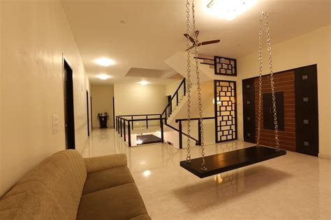 swing in home minimal melange house ansari architects chennai