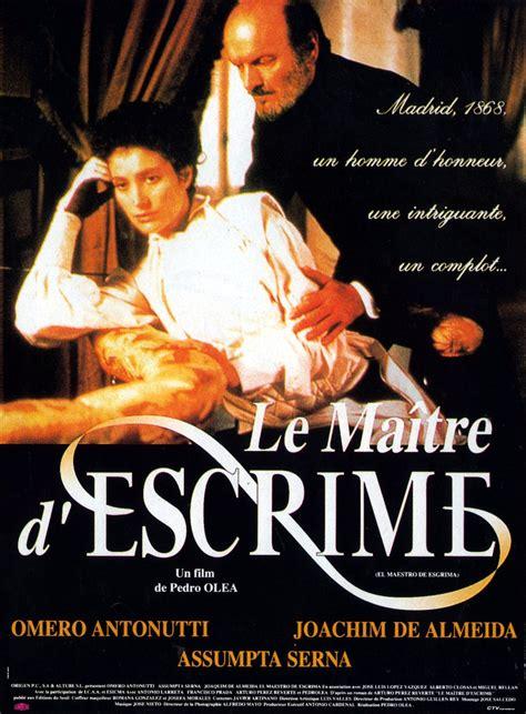 el maestro de esgrima 8420481017 una pagina de cine 1992 el maestro de esgrima fra 01 jpg