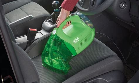 handheld upholstery cleaner maxi vac handheld carpet cleaner groupon goods