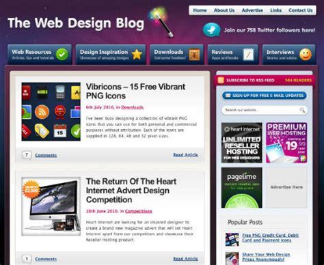 Design Blogs | 20 design blogs worth reading web design ledger