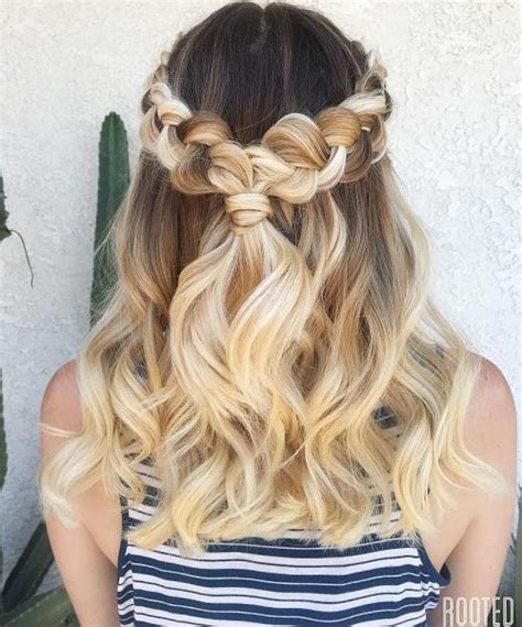 hairstyles for party down 50 half up half down hairstyles for everyday and party looks