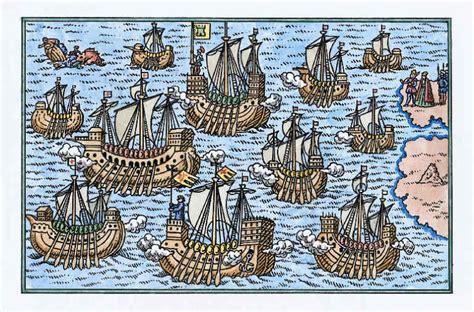 los tres barcos de cristobal colon en dibujo dibujo de cristobal colon viajes imagui