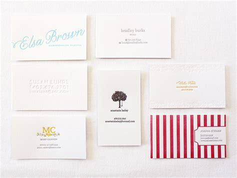 how to make calling cards paper lovely calling cards