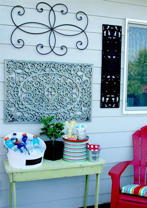 outdoor wall diy today s creative