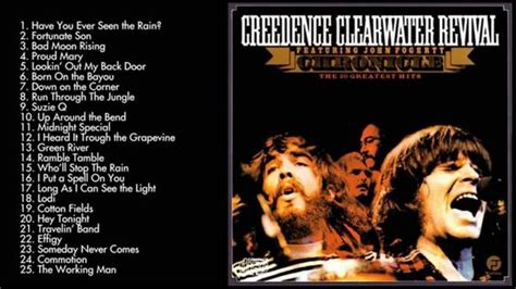 ccr best creedence clearwater revival s greatest hits best songs