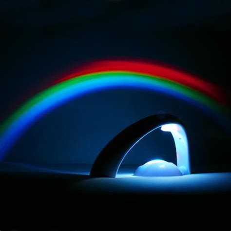 rainbow led projector l light room decoration in
