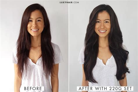 Maxi Luxy maxi hair before and after how to choose the right