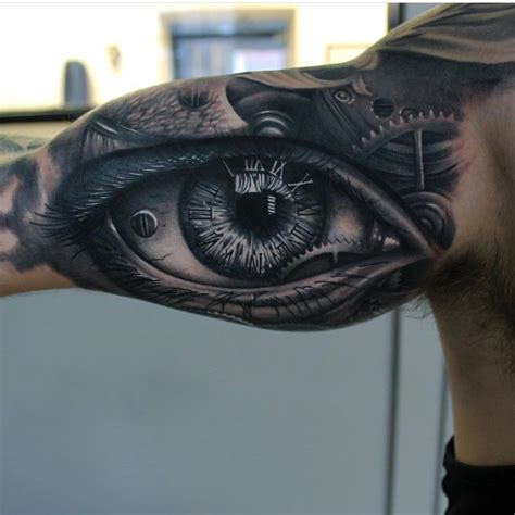awesome eye tattoos designs for realistic eye best ideas gallery