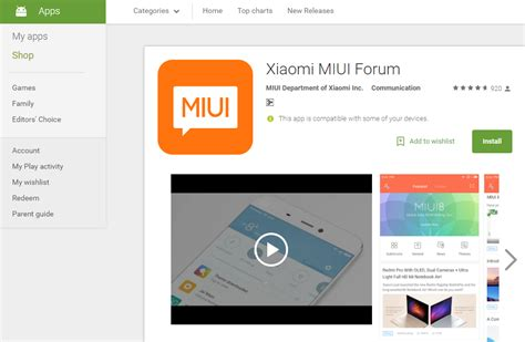 miui themes location xiaomi s miui forum app now available on google play store