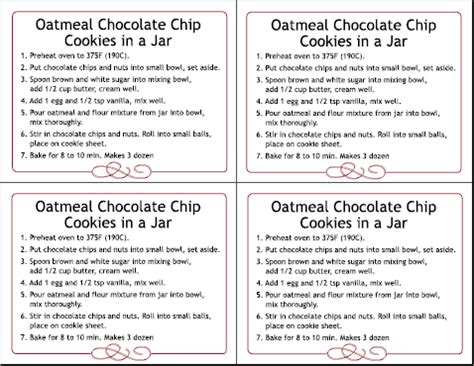 printable cookie jar recipes printable pet tag templates trials ireland